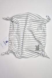 Unisex Baby Knuffeldoek met knopen- Ewers- wit gijs