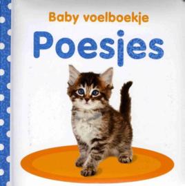 Baby voelboekje poesjes-CBC-Wit