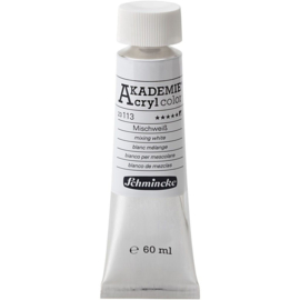 Acryl color-buff titanium light (113)-semi-opaque, extr. fade resistant, 60ml-Schmincke AKADEMIE