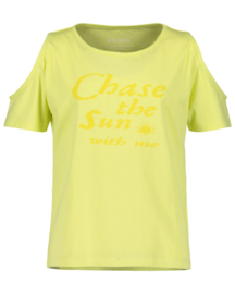 Girls knitted T- shirt- Blue Seven- Citron orig