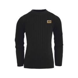 Lovestation22- Turtle Sweater Nienke-Black solid