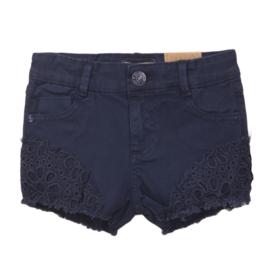 DJ Dutch Jeans-Girls Jeans shorts-Blue jeans
