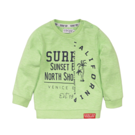 Dirkje-Baby Boys Sweater ls -Bright green