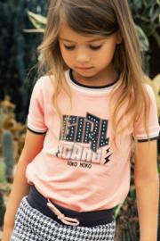 Koko Noko-Girls T-shirt ss-Pink