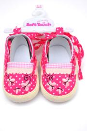 Espadrilles babygirl-LPC-hardroze-maat 15 en 16