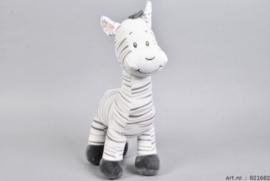 Unisex ZAZA-ZOO Zebra staand-C-White