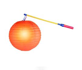 CW-Lampionstok electrisch 50 cm-Multi Color