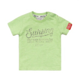 Dirkje-Boys T-shirt ss -Bright green