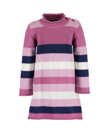 Blue Seven-Mini girls knitted dress-Lilac orig