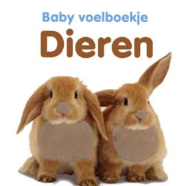 Baby voelboekje Dieren-CBC-Wit