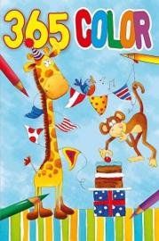 365 kleurboek- groothandel C- Giraf