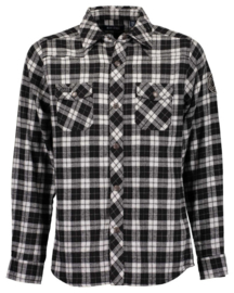 Boys woven shirt- Blue Seven- Black Orig