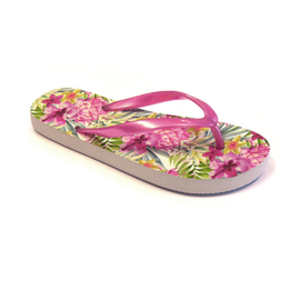 Girls Flip Flop with fashion print- Libaco- Pink-maat 36 t/m37