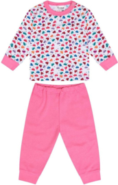 Beeren-LPC-Baby Girls Pyjama Hearts-Rose