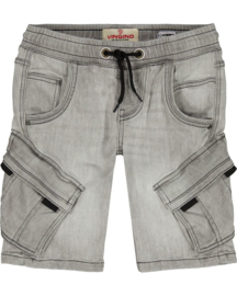 Vingino -Boys Short Jeans Cliff -Light Grey