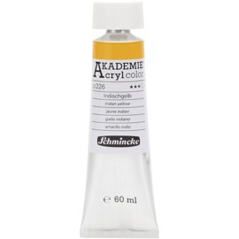 Acryl color-indian yellow (226)-transparent, fade resistant, 60ml-Schmincke AKADEMIE