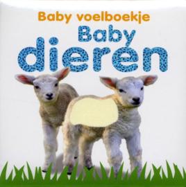 Baby voelboekje Baby dieren-CBC-Wit