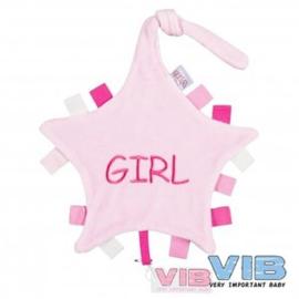 VIB-Girls Tutteldoekje-Rose