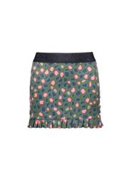 B.Nosy-Girls Kids sweat skirt with ruffle hem -Allover-Flaw spots