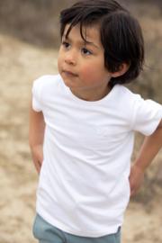Koko Noko-Boys Nigel T-shirt ss Bio Cotton-White