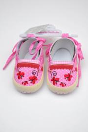 Espadrilles babygirl-LPC-Rose-maat 15 en 16