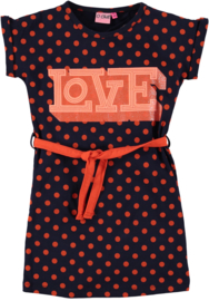 Girls Dress Kitty-OChill-Navy