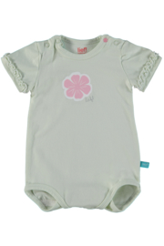 Baby Girls Body L/S Topical Love Newborn- Lief-  Almost Aqua