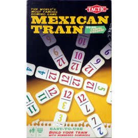Mexican Train Reisversie -Tactic Games- Reisspel-Multi Color