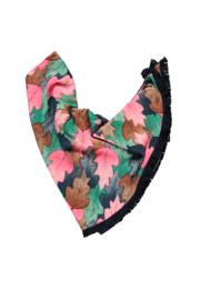 Girls Kids aop scarf -B.Nosy-Leaf cover