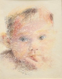 portret 1 monoprint
