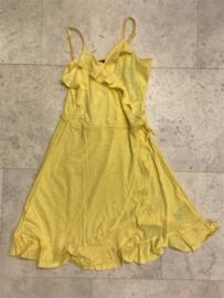 Blue Seven- Girls knitted dress-Straw-Yellow