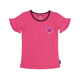 Girls Shirt Romy- LoveStation22-Pink