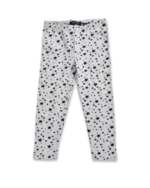 Kids Girls Legging- Blue Seven- Light grey- 92