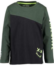 Blue Seven-Kids Boys knitted T-shirt-Black orig