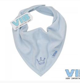 VIB-Boys Bandana Slab Kroontje-Blue