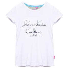 Juliette-Girls Shirt Adventure- white