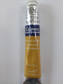 W&N Aquarelverf Tube Yellow Ochre