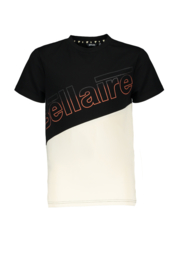 Bellaire-Boys Teens-Kusy shortsleeves T-shirt cut and sewn-Caviar