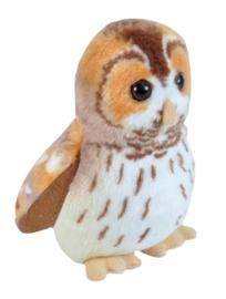 Trendzz-Vogels met geluid- Bosuil-Tawny Owl-Brown