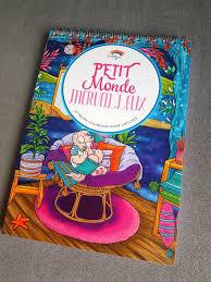 Kleurboek voor volwassenen 30 afb. Petit Monde Merveilleux- white