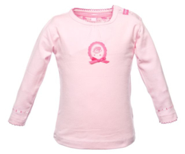 Girls Newborn Top-Beebielove-Roze