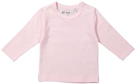 Dirkje-Girls Basic Shirt l.m.- Light Pink