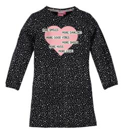 OChill-Girls Dress Loulou- Black