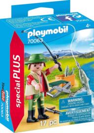 Playmobil Special Plus-CW.-Visser met hengel- 70063-Multi Color
