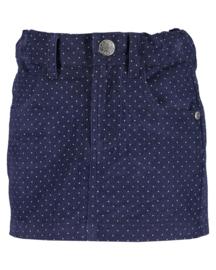 Blue Seven-Kids Girls woven jeans skirt-Night Blue aop orig