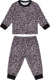 Beeren-LPC-Baby Unisex Pyjama Leopard-Brown-Black