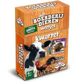 Identity Games-Kwartet Boerderij dieren weetjes - Kaartspel-Brown
