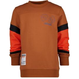Vingino -Boys Sweater Nector-Rusty brown