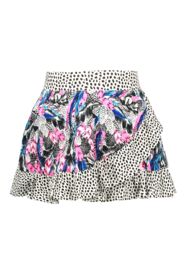 B.Nosy-Girls skirt with contrast ruffle-Fash feathers