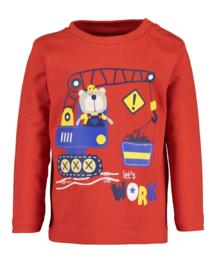 Blue Seven-Mini boys knitted shirt-Tomato  orig